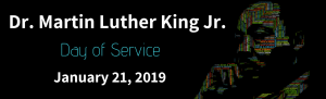 In Observance of Martin Luther King Jr. Day Church Office Closed