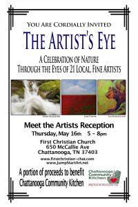 Artists Reception: The Artist's Eye @ First Christian Church
