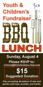 Youth/Children's Fundraiser BBQ Lunch